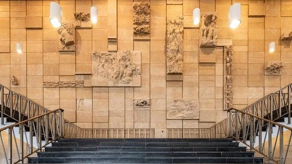 Wandrelief Kultur-und Kongresszentrum Gera