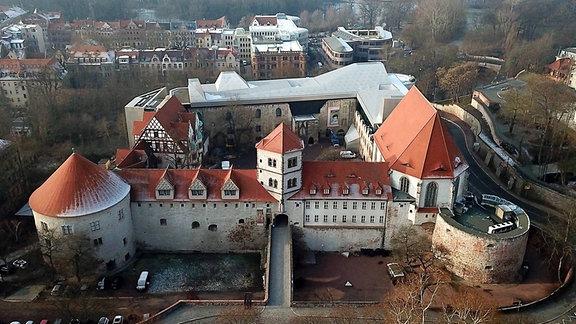 Das Kunstmuseum Moritzburg in Halle.