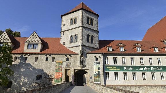 Gebäude der Moritzburg