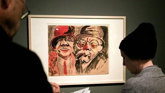 Kunstobjekte aus der Gurlitt-Sammlung