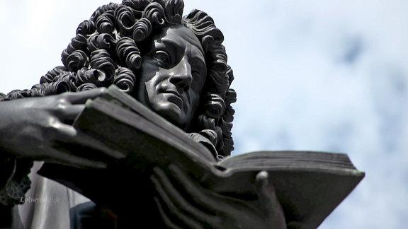 Denkmal: Gottfried Wilhelm Leibniz