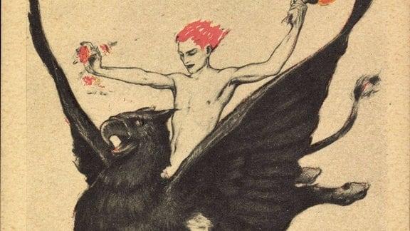 Plakat zur Weltausstellung für Buchhandel, Oktober 1914