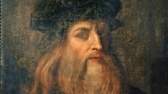 Selbstportrait von Leonardo da Vinci