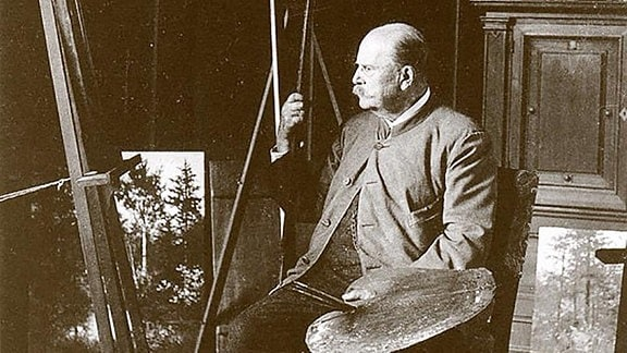 Portrait Eduard Leonhardi.