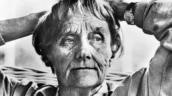 Astrid Lindgren (Schriftstellerin) im März 1988