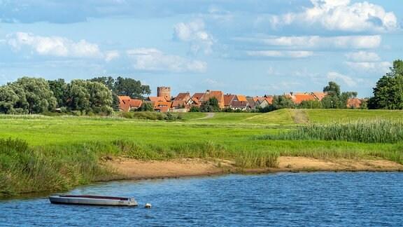 Stadtansicht Hansestadt Werben an der Elbe