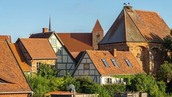 Stadtansicht der Hansestadt Werben