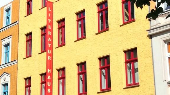 Das Literaturhaus in Magdeburg