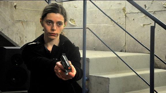 """Malina (Carmen Birk) in dem Radio Tatort """"Malina""""."""