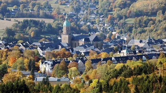 Stadtansicht Annaberg-Buchholz