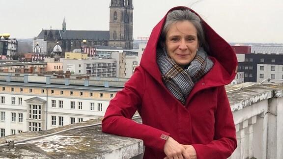 Magdeburgs neue Stadtschreiberin Marlen Schachinger