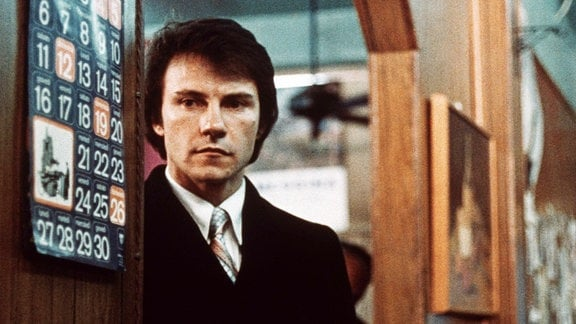 Harvey Keitel (Charlie) in dem Film 'Hexenkessel'