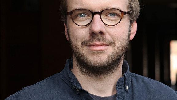 Der Schriftsteller Matthias Jügler