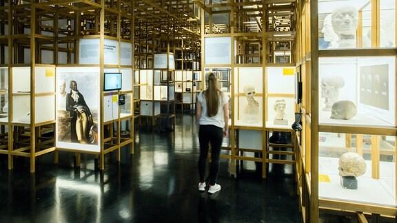 Ausstellung Die Erfindung von Menschenrassen