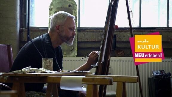 Ein Atelierbesuch bei Michael Triegel