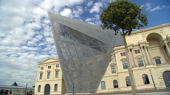 Das Militärhistorische Museum in Dresden