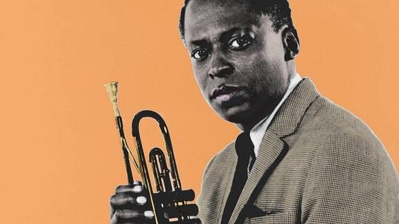 Der Jazztrompeter Miles Davis