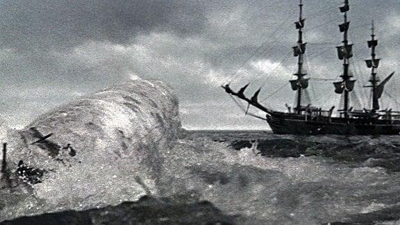 Filmszene  - Moby Dick - 1956