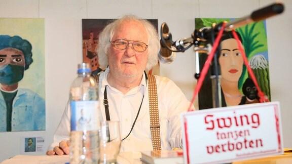 Zeitzeugengespräch mit Emil Mangelsdorff