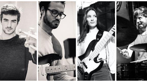 Jazz talentZZ 2021: Diller Olivanti Sima Chmel-Quartett