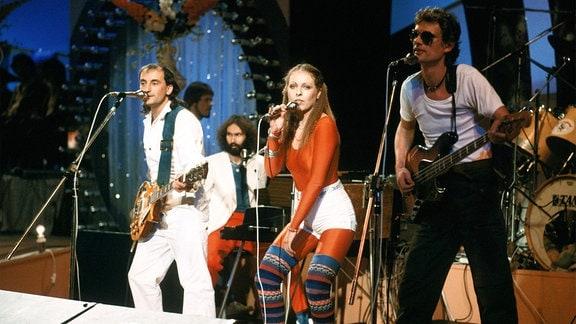 Tamara Danz mit ihrer Band Silly.