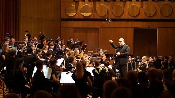 Musizierende der Musikschule Leipzig J.S. Bach