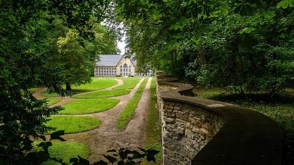 Die Orangerie im Schlosspark Harbke
