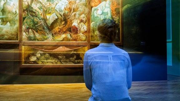 Otto Dix, Der Krieg, Das Dresdner Triptychon Ausstellung im Albertinum