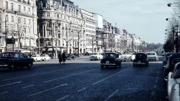 Paris Frankreich, ca. 1965, Stadtaufnahme