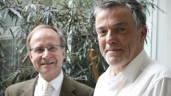 Peter Zimmerling und Thomas Bille (r.)