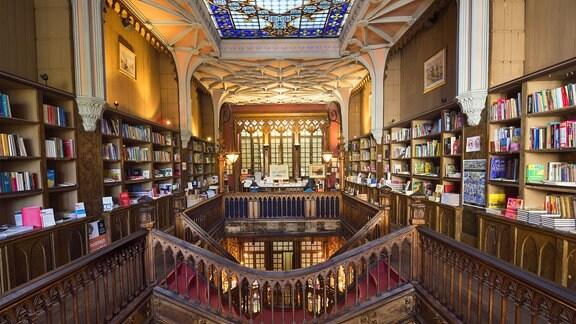 Buchhandlung Lello & Irmão, Portugal.