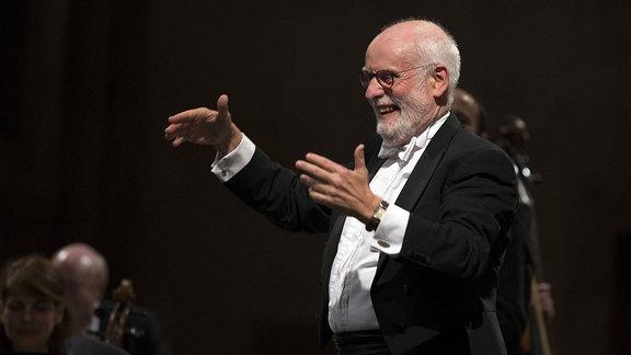 Der niederländische Dirigent Ton Koopman