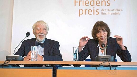ding caption/abstract = Die nominierten Friedenspreistraeger des Deutschen Buchhandels, Aleida und Jan Assmann