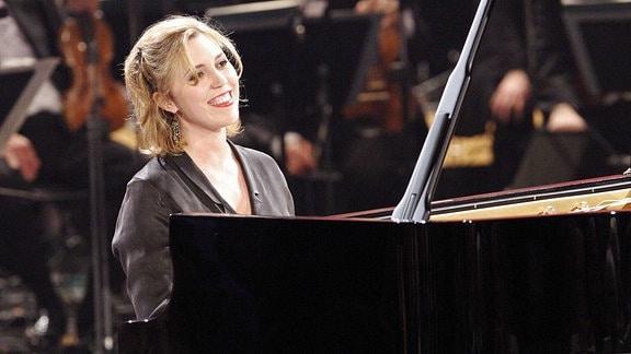 Die Pianistin Gabriela Montero