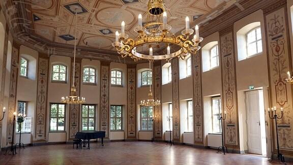 Klassizistischer Kursaal in Bad Lauchstädt