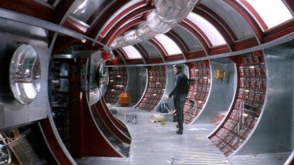 Filmszene aus Solaris, 1972.