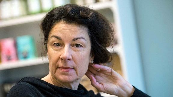 Die Schriftstellerin Zsuzsa Bánk