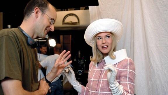 Peyton Reed und Renee Zellweger, 2003
