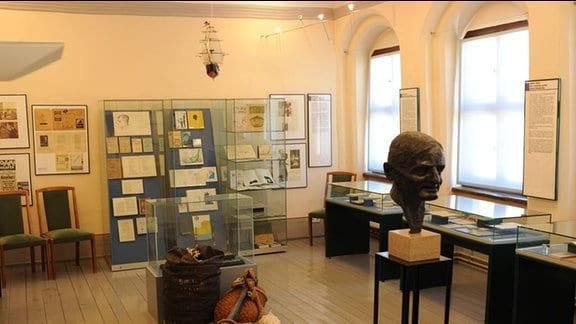 Ringelnatz-Ausstellung im Kulturhistorischen Museum Wurzen
