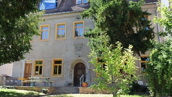 Wurzener Stadtvilla des Tapetenfabrikanten August Schütz