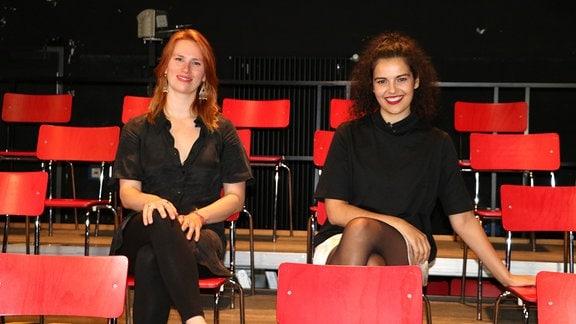 Lissa Meybohm und Ayda-Lisa Agwa