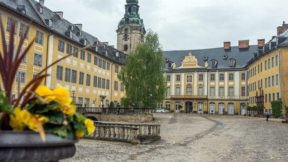 Rudolstadt ohne Festival - Heidecksburg