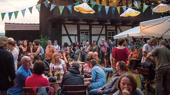 Rudolstadt Festival 2017: Bauernhäuser, Impressionen vom Festival