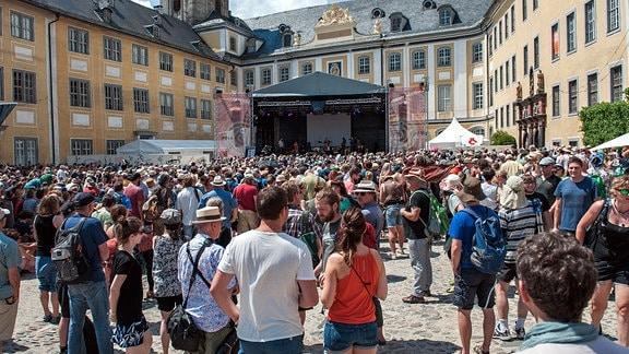 Rudolstadt Festival 2017: Publikum auf der Heidecksburg