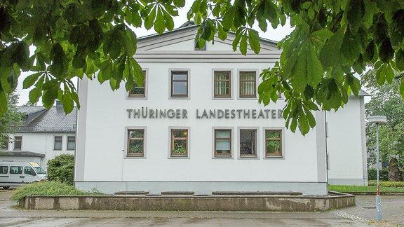 Rudolstadt Festival - Theatervorplatz ohne Publikum