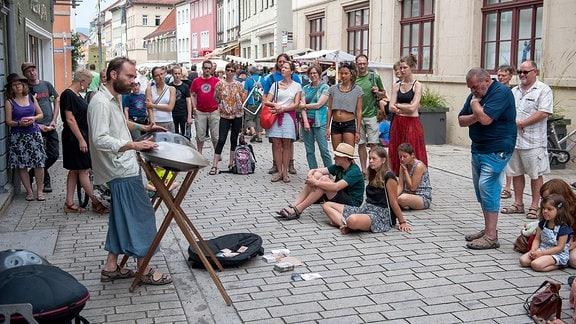 Rudolstadt Festival - Publikum in den Straßen