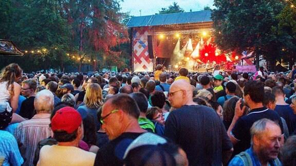 Rudolstadt-Festival - Konzert im Heinepark