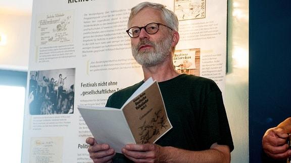 Buchautor Wolfgang Leyn