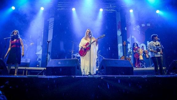 Yael Deckelbaum & The Prayer Of The Mothers Ensemble (ISR) auf der Großen Bühne Heinepark