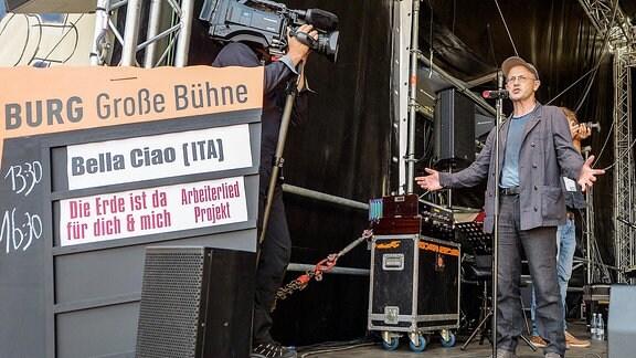 Arbeiterlied-Konzert Steffen Mensching